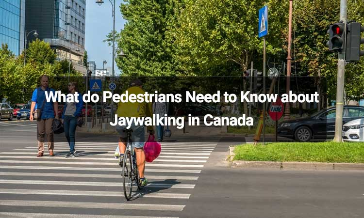 What do Pedestrians Need to Know about Jaywalking in Canada